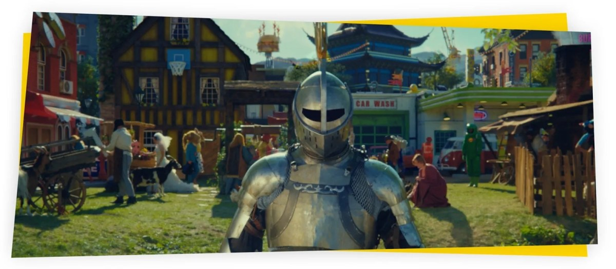 """LEGO's 2021 Rebuild the World Ad """"The Damp Knight's Tale"""" Shows How Creative Imagination Helps Solve Problems"""