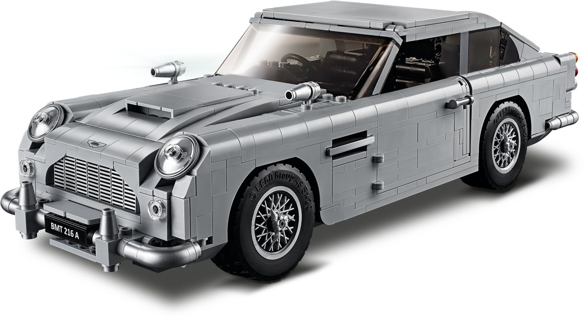 """""""No Time to Die"""" 007 Film Release Could See Renewed Interest in Aston Martin DB5 (10262) Before Its Retirement"""
