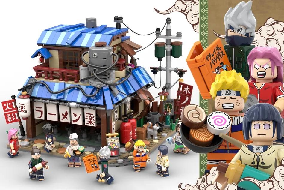 "Returnee LEGO Ideas 10-K Passer: ""Naruto"" Ichiraku Ramen (20th Anniversary Edition)"