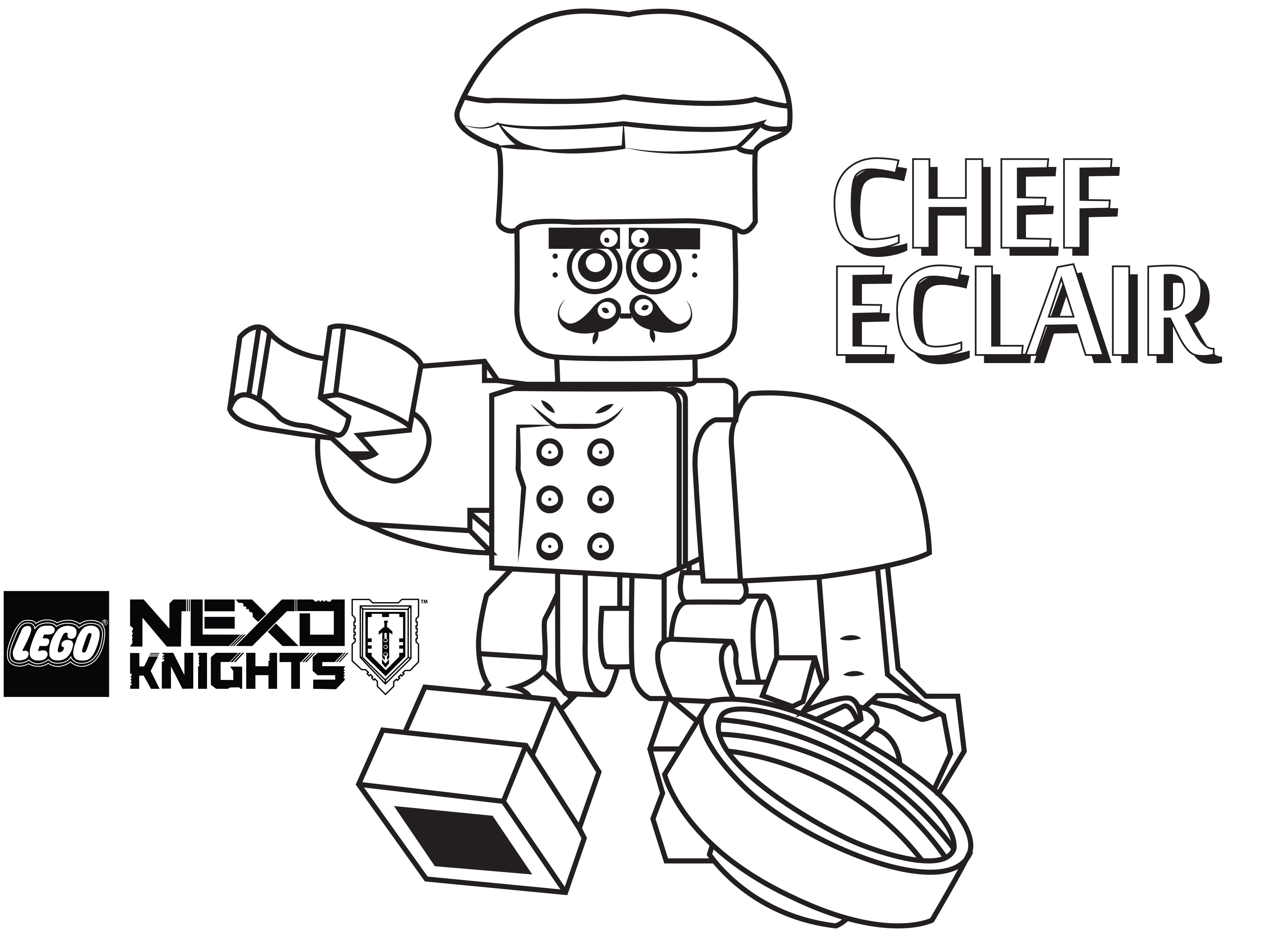Aaron Nexo Knights Coloring Pages Coloring Pages