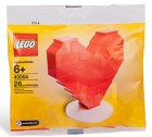 Offizielles LEGO Set 40004 zum Valentinstag 2010 im Polybag.