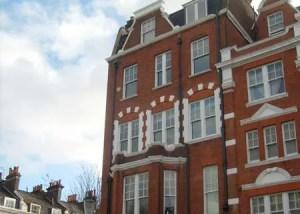 Elevation of Edwardian Building finished