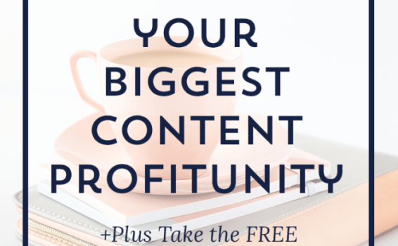 [Free Quiz] Discover Your Biggest Content Profitunity