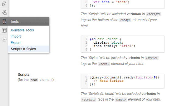 3 ways to insert JavaScript into WordPress pages or posts