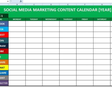 How to create a social media content calendar, then post engaging content