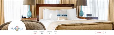 Social media management for hotels on Twitter