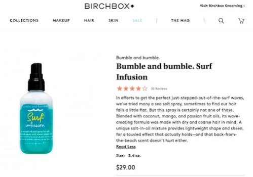 How to write product descriptions to increase sales