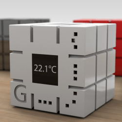 GreenMe is the little cube working to create better buildings