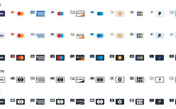 20 Free Payment Method & Credit Card Icon Sets