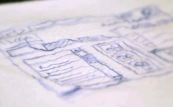 The Idea Generation Process of Scribbling on a Napkin