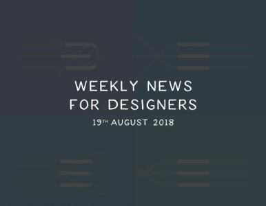 Weekly News for Designers № 450