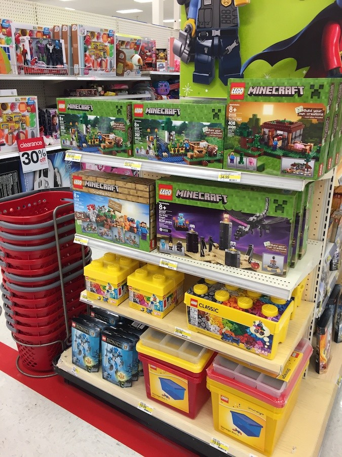 Back To Target For New LEGO Sets Brick Update