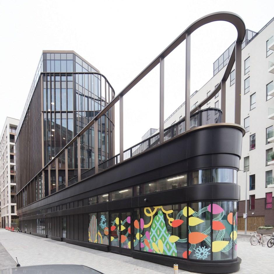 Aperture Building Greenwich - Glassolutions