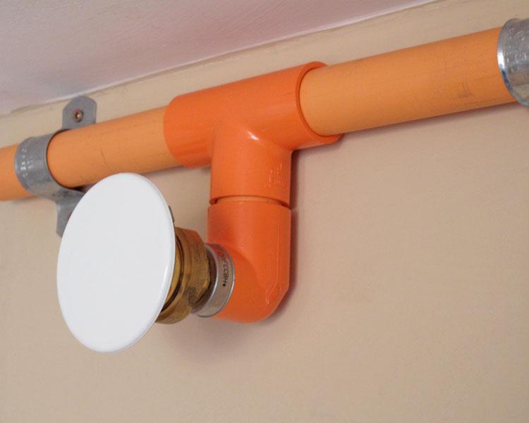 Encasement Fire sprinkler systems 3