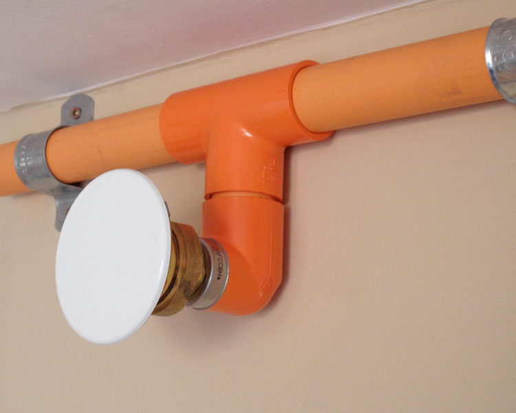 Encasement Fire sprinkler systems 3