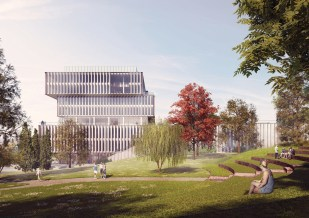 Schmidt Hammer Lassen Architects_Solvay HQ_Amphi theatre_SM