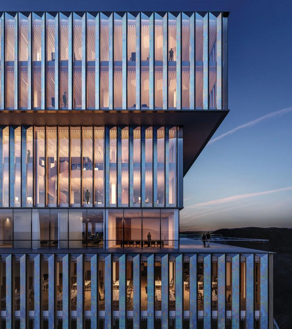 Schmidt Hammer Lassen Architects_Solvay HQ_Facade zoom update_SM
