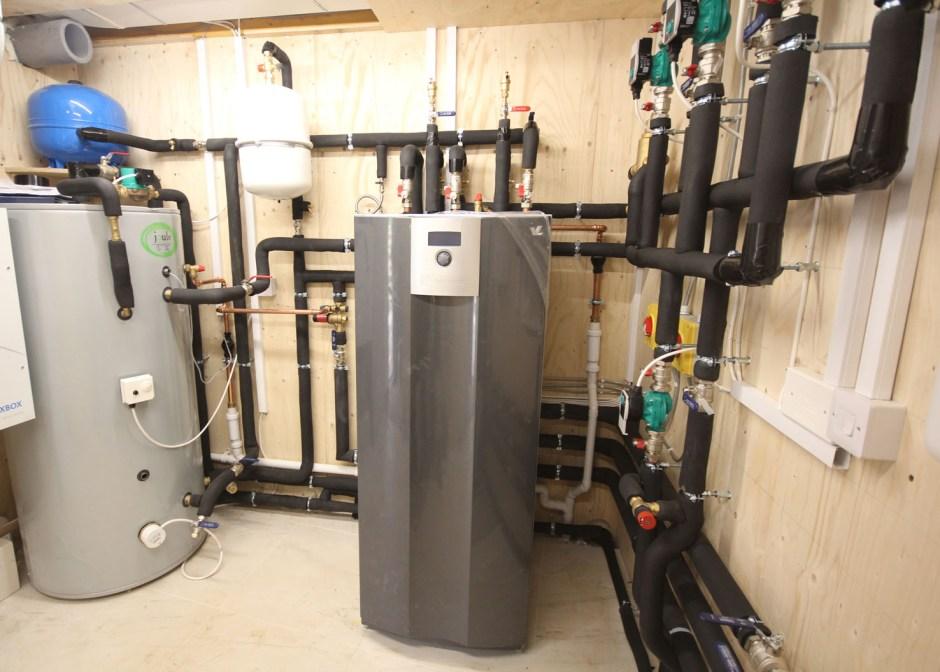 OMNIE ground source heat pump