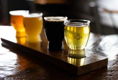 flights of craft beer yarmouth maine