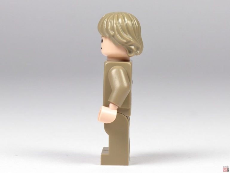 Bespin Luke Skywalker, left side |  © Brickzeit