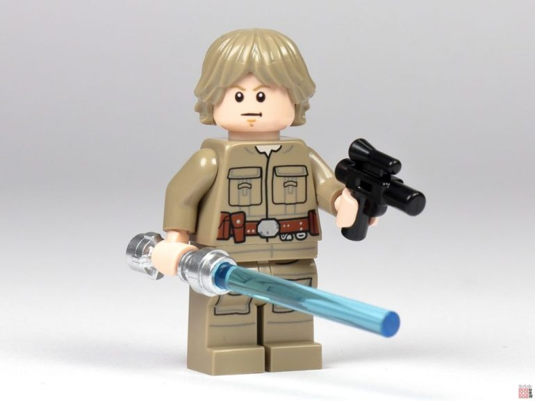Bespin Luke Skywalker with lightsaber and blaster |  © Brickzeit
