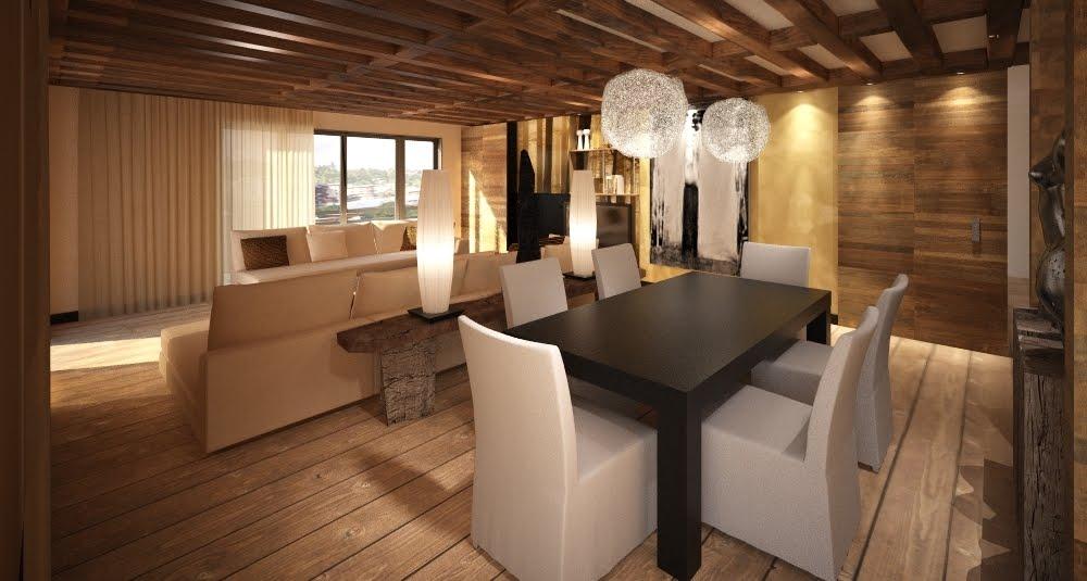 Deco Chalet Bois Interieur Bricolage Maison Et Dcoration