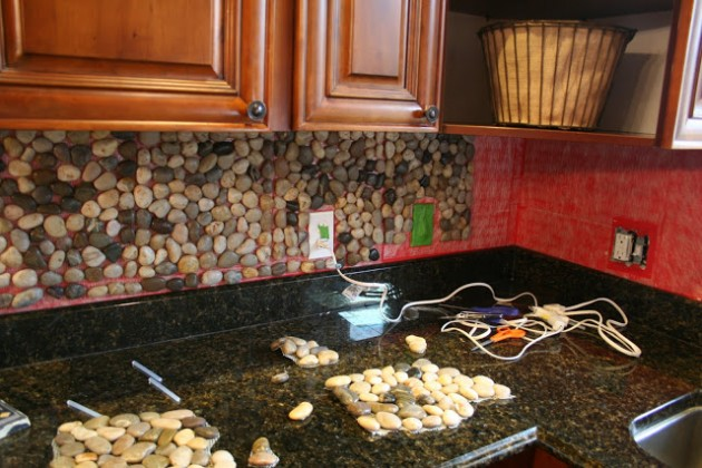 Diy rustic kitchen backsplash. rustic kitchens rustic and kitchen ...