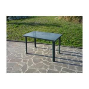 tavolo in resina antiurto verde 120x70