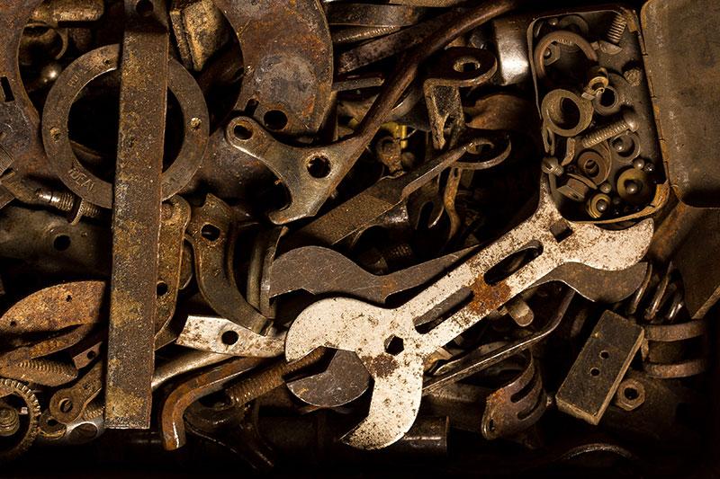 Comment enlever la rouille des outils ?