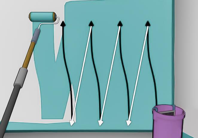 Trucos para pintar con rodillo sin marcas - Trucos pintar paredes ...
