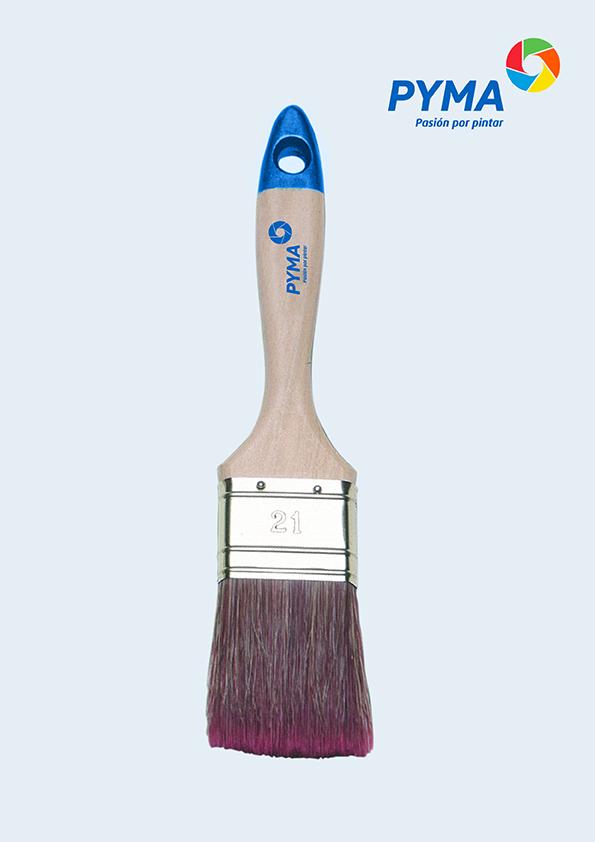 paletina mezcla pelo natural y sintético