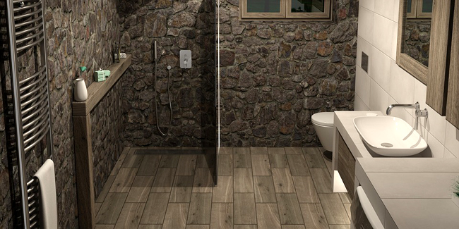 sol de salle de bain quels materiaux