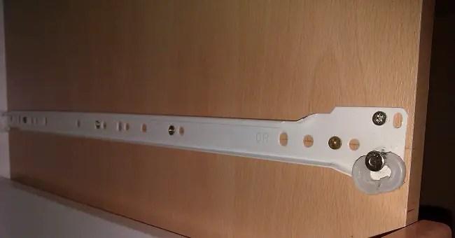 comment reparer un tiroir coulissant