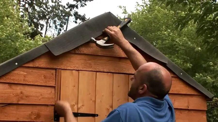 comment refaire le toit d un abri de