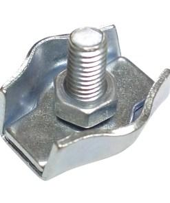 Sujetacables Plano Simple   5 mm. (Bolsa 100 unidades)