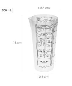 vaso medidor