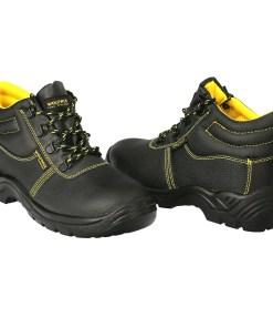 Botas Seguridad S3 Piel Negra Wolfpack  Nº 43 Vestuario Laboral