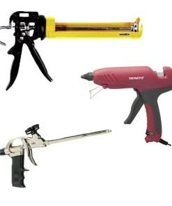Pistolas y aplicaddores de silicona