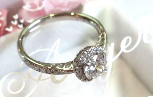 彼女に贈る最も 特別な指輪 … それって 結婚(婚約)指輪。