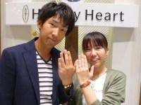 ミルク&ストロベリーの結婚指輪をご購入(太田市/H様・M様)