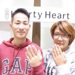 スイートブルーダイアモンドの結婚指輪をご購入(K様・Y様/熊谷市)