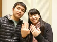 A DUEXの結婚指輪をご購入(足利市/R様・M様)
