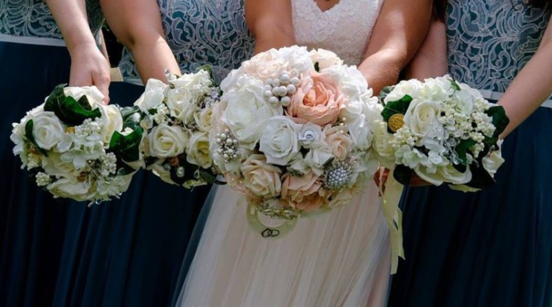 Bride and Bridesmaids Bouquet