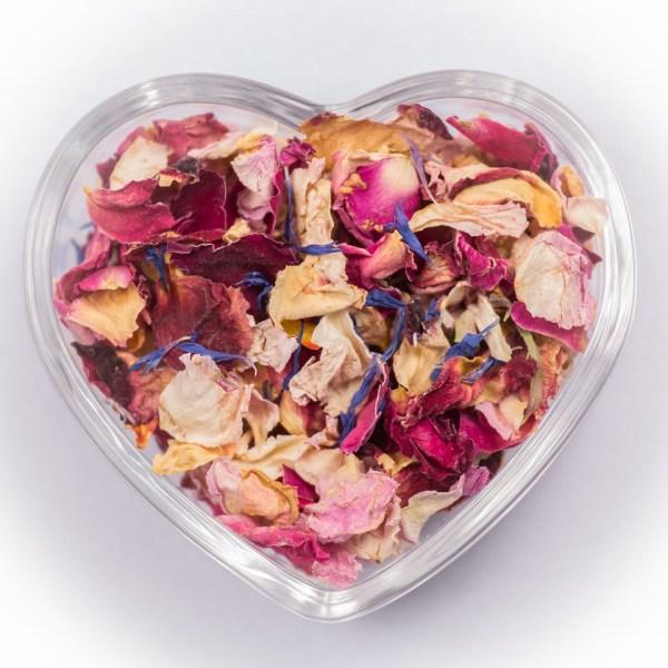 Rose Garden Dried Petals Confetti