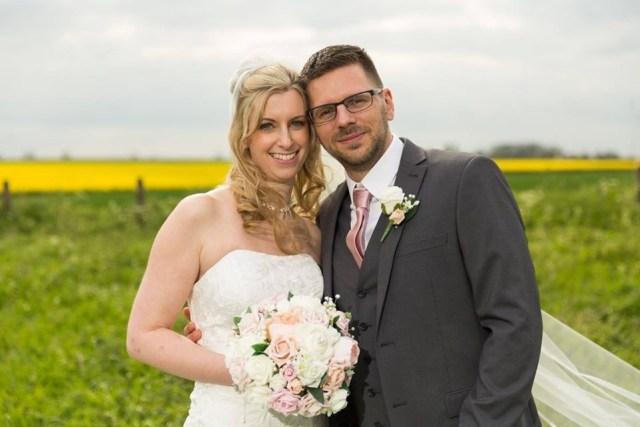 Justine wedding silk bouquet