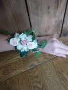 ivy wrist corsage