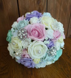 pastel mix bouquet