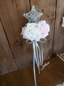 star flower girl wand
