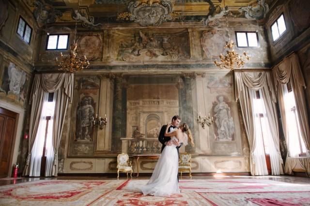 aristocratic wedding