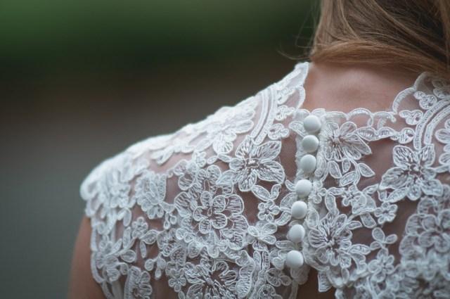 back detail bridal dress